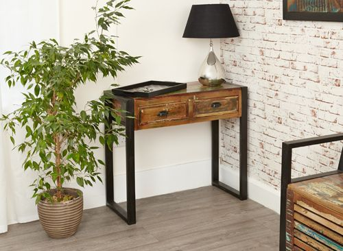 urban modern furniture. With Its Chic Urban Look This Modern Industrial Console Table Will Be An Ideal Addition To Any Style Conscious Hallway Or Reception Room. Furniture I
