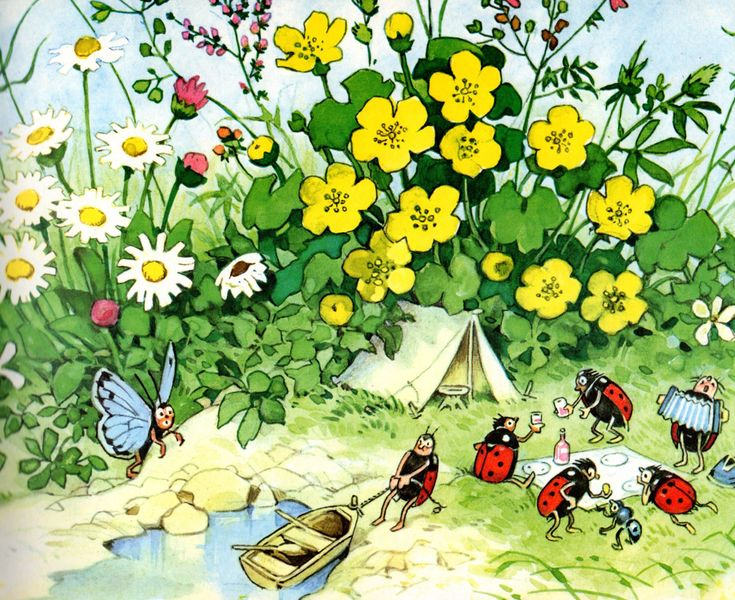 88 best images about illustraties fritz baumgarten on for Baum garten