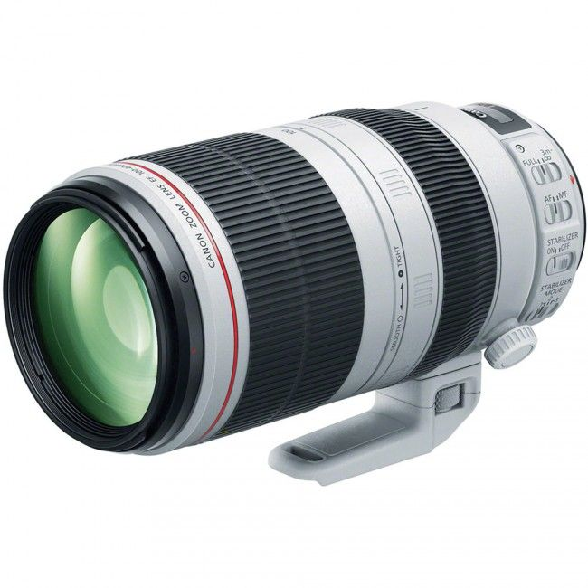 The new version of the legendary Canon L-lens. Canon EF 100-400mm f/4.5-5.6L IS II USM.