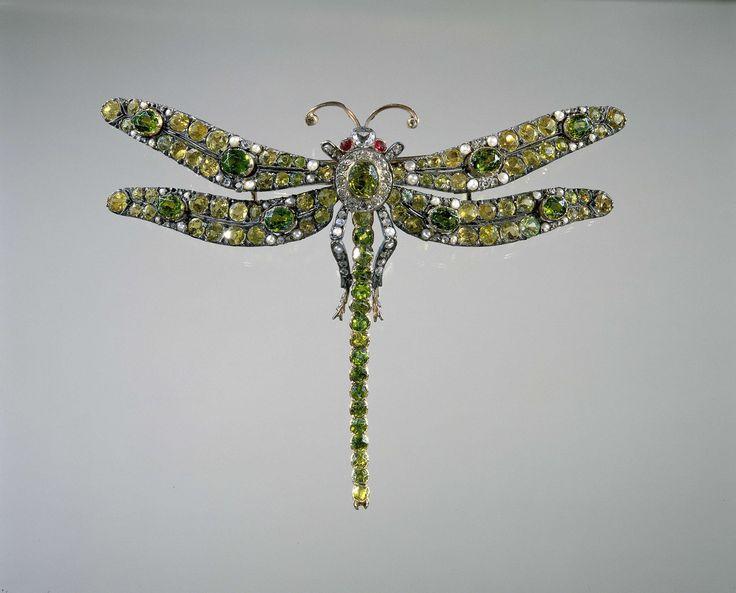 Broche in de vorm van een libelle, anoniem, c. 1890