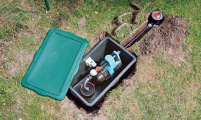 Brunnen Bohren Selbst De Brunnen Garten Wasserpumpe Garten Brunnen