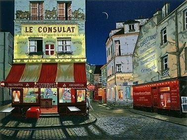 Exquisitely : I Adore French Cafes Story & Experience