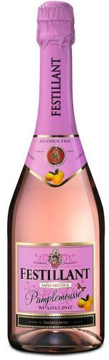 Festillant Sparkling Alcoholvrij. WARNING Contains grapefruit, and may interact with medications.