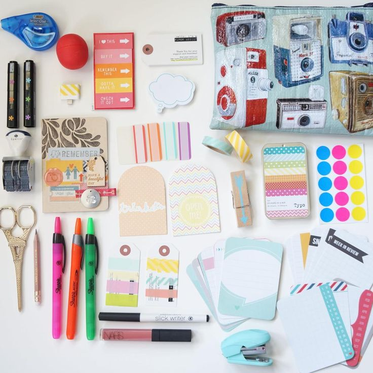Inside the Crafters Studio: Filofax and Project Life Travel Bag