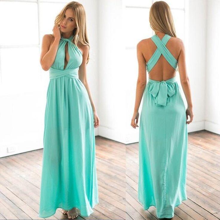 Dmart7deal long maxi dress bandage Multiway Bridesmaids Convertible wrapLOVE IT!!RATE NOW>!!>PIN NOW!!>SHARE NOW !!! SHOP NOW!!! AT.Dmart7deal.com