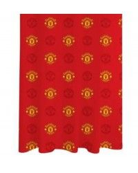 Man United Football Club Crest 72 Inch Drop Curtains