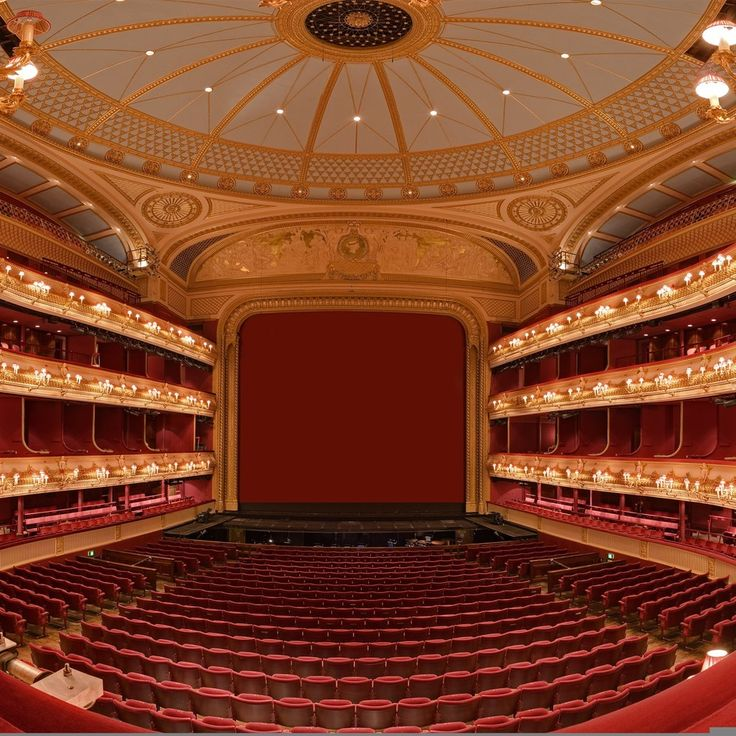 The Royal Opera House in Covent Garden, London hosts world-renowned opera productions.