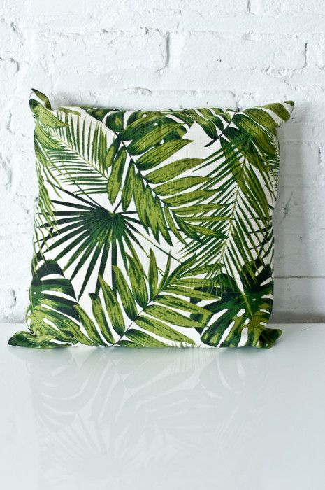 We <3 these Palm Pillows | Patina