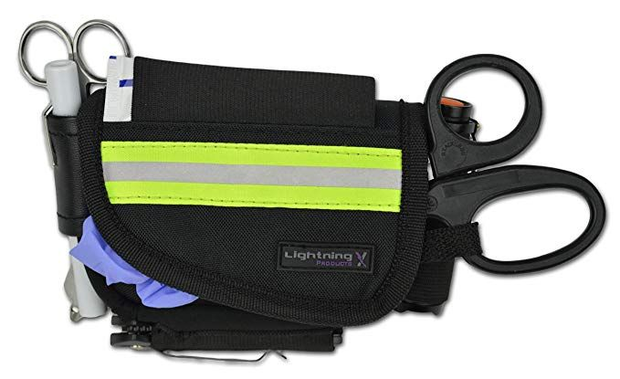 Stocked First Aid Hip Belt Pouch