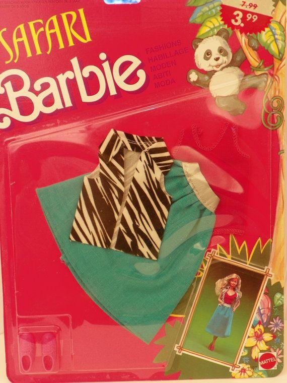 Vintage Mattel Barbie Safari Moden 1597 NRFB 1988 von ShersBears