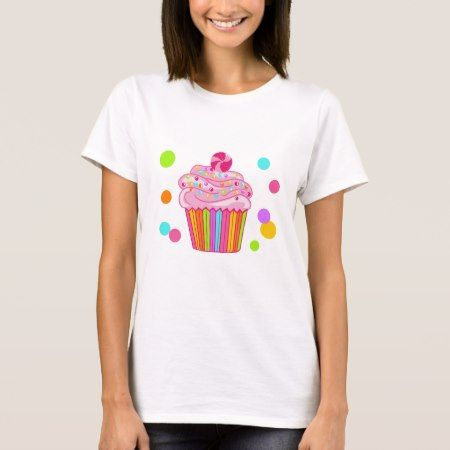 Candy Surprise Cupcake T-Shirt - tap, personalize, buy right now!
