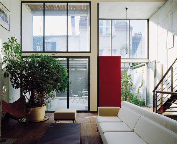 Journées de la maison contemporaine 2006 - Paris - ConstruirAcier (OTUA)