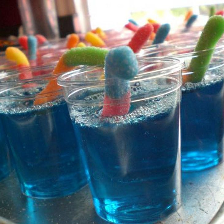 how to make blue raspberry jello shots