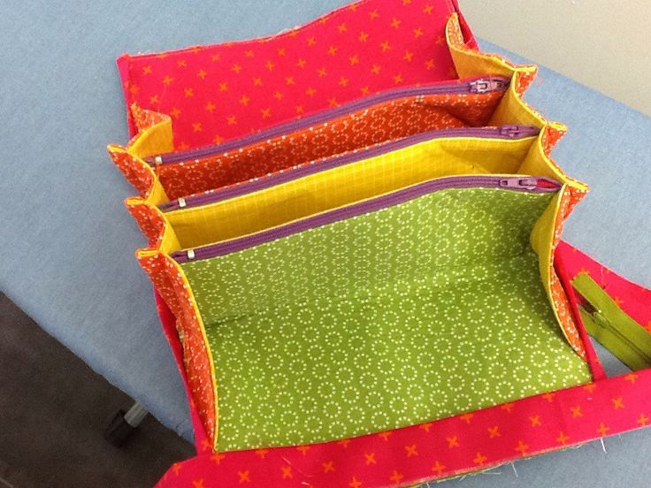 A review of the making of my first Sew Together Bag