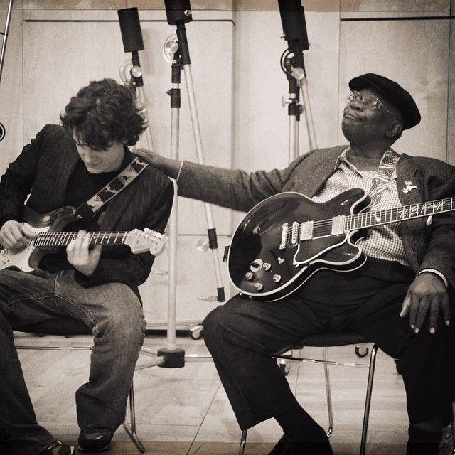 John Mayer and B.B. King