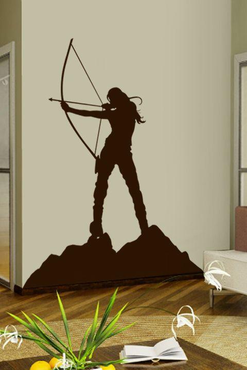 Archery wall decal by WALLTAT.com