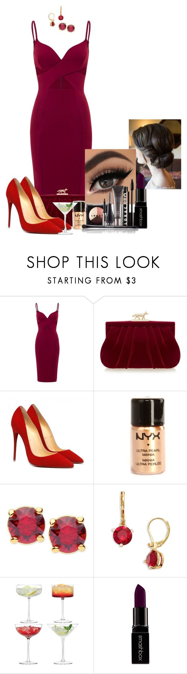 """""""Samuel Oliver - Keating foundation ball"""" by huntress-383 ❤ liked on Polyvore featuring Aloura London, Wilbur & Gussie, NYX, Anne Klein, Kate Spade, LSA International, Smashbox and LORAC"""