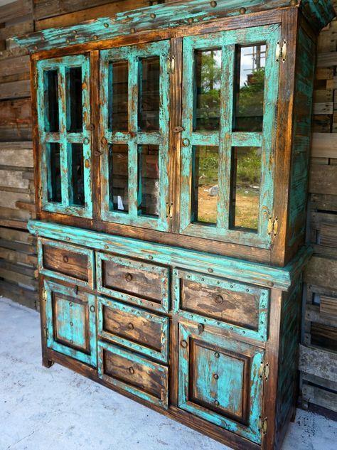 San Antonio Rustic Hutch – Sofia's Rustic Furnitur…