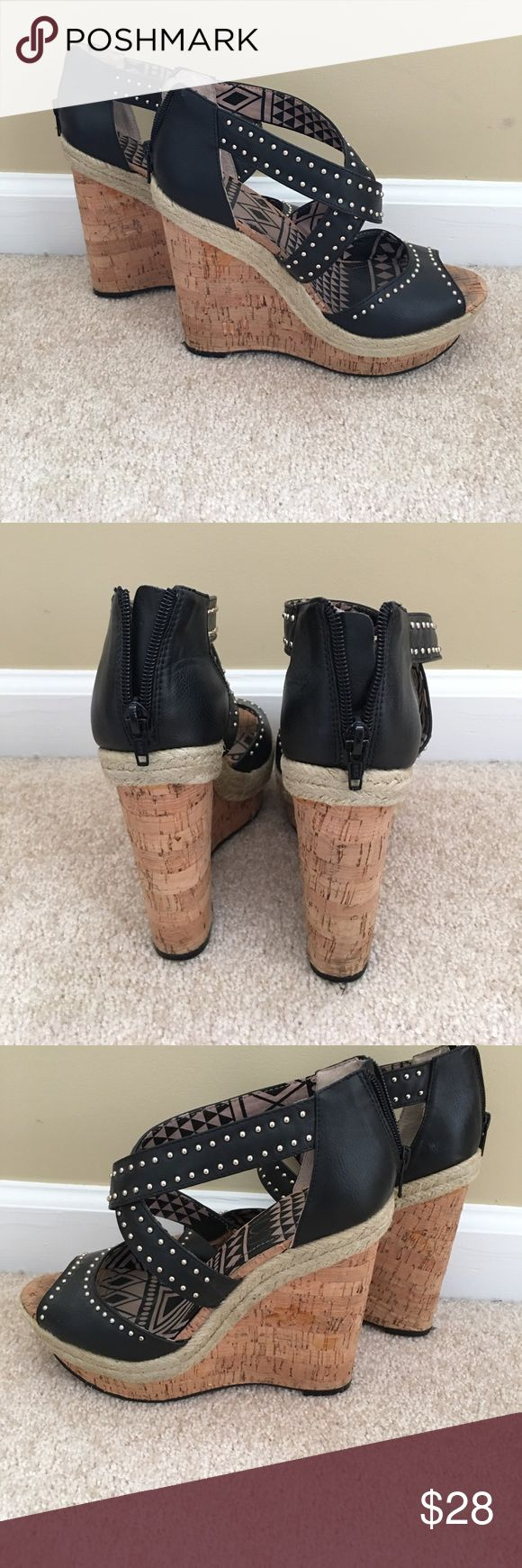 Jessica Simpson wedge shoes. Great condition. Jessica Simpson wedge shoes. Great condition. Jessica Simpson Shoes Wedges