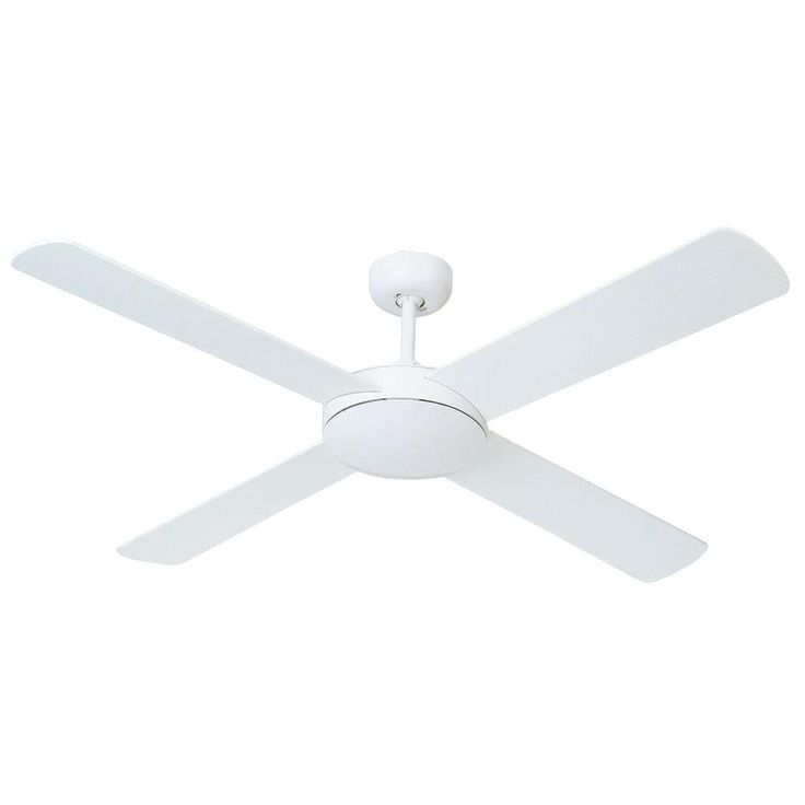 If we ever need a ceiling fan...Hampton Bay Futura Eco 52 in. White Ceiling Fan (exquisitedepot.com)