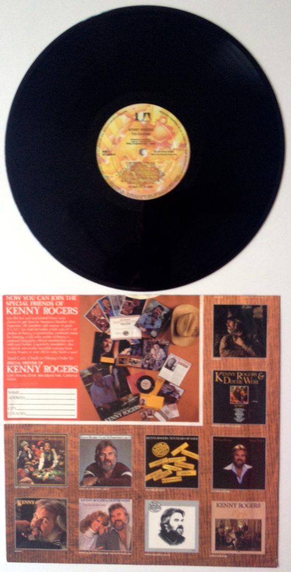 Kenny Rogers - The Gambler LP Vinyl Record Album, United ...