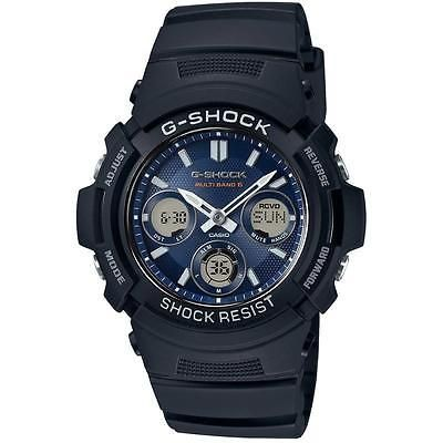 Casio #awgm100sb men's g-shock solar powered & #radio #controlled watch black - n,  View more on the LINK: http://www.zeppy.io/product/gb/2/131846817352/
