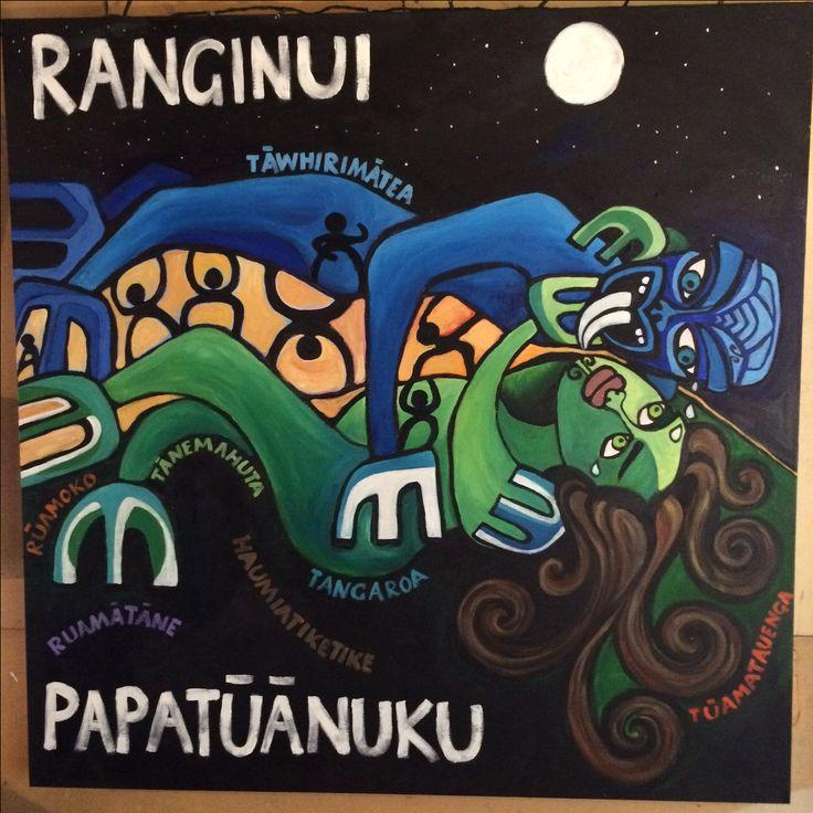 RANGI AND PAPA ( UNFINISHED)