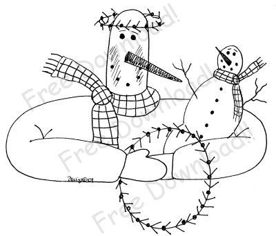 336 Best Embroidery Images On Pinterest Embroidery Snowman And