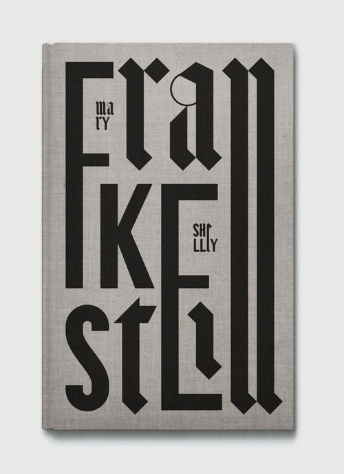 Typeverything.com - Frankestein book cover...