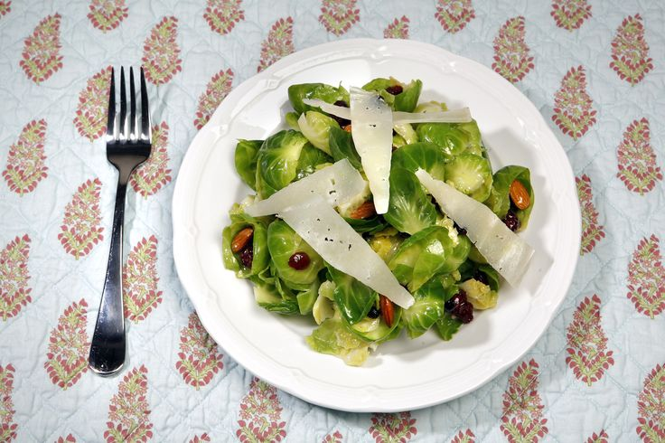 Recipe: La Grande Orange Café's Brussels sprout salad with mustard vinaigrette  Dear SOS: La Grande Orange Café in the historic Santa Fe train depot in Pasadena has the most incredible Brussels sprout salad. Do you think that you can get the recipe from the restaurant? Thank you.  http://www.latimes.com/food/la-fo-sos1-2009apr01-story.html