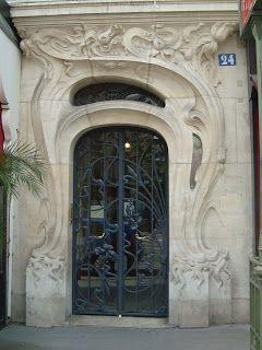 Art Nouveau: 24 place Etienne Pernet, Paris XVè, architecte Alfred Wagon, 1904