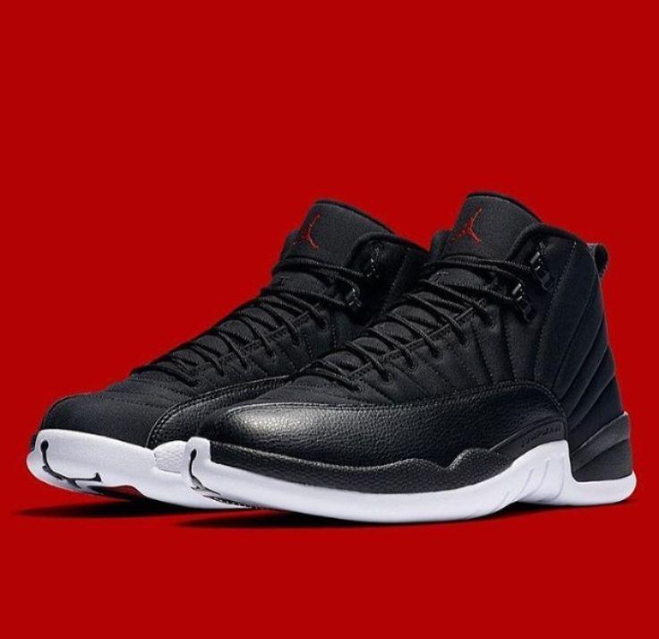 "Air Jordan XII ""Neoprene"" (Black / White - Gym Red)"