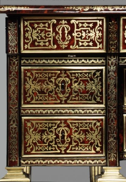 Boulle marquetry: Metropolitan Museum of Art