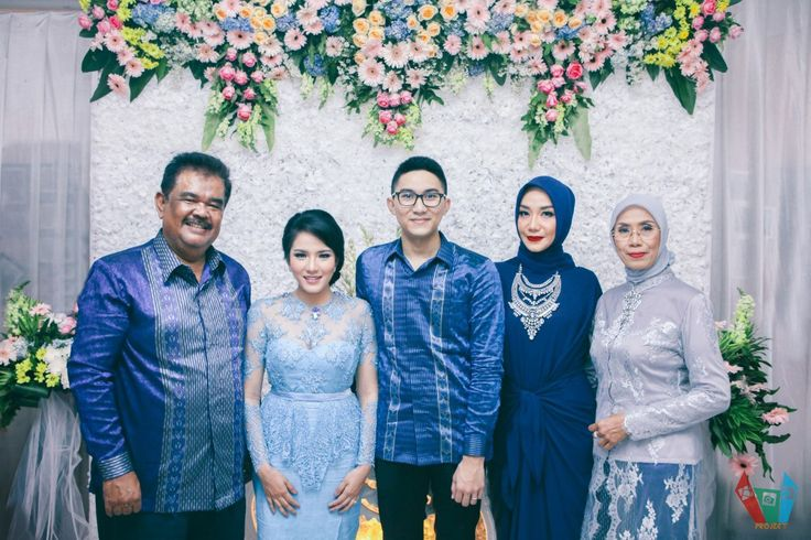 DIY Paper Blue Engagement - Nissya