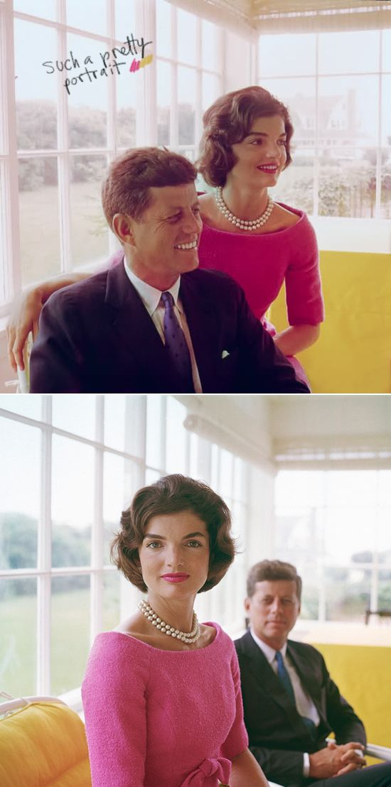I have always been a big fan of the Kennedy's, I think Jackie O. is such a style icon and such a classic lady.