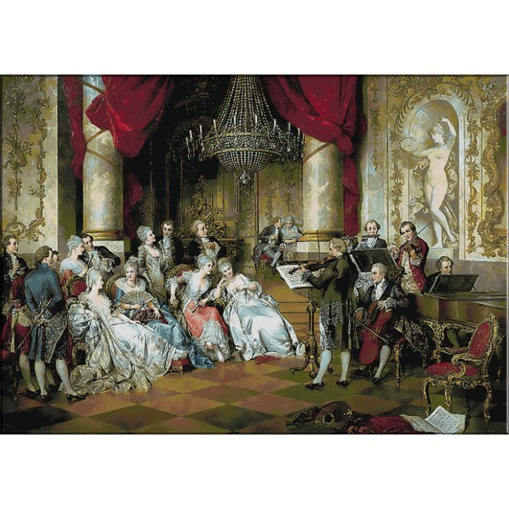 1492.Carl Schweninger jr.Concertul - Goblen KRIF Timisoara