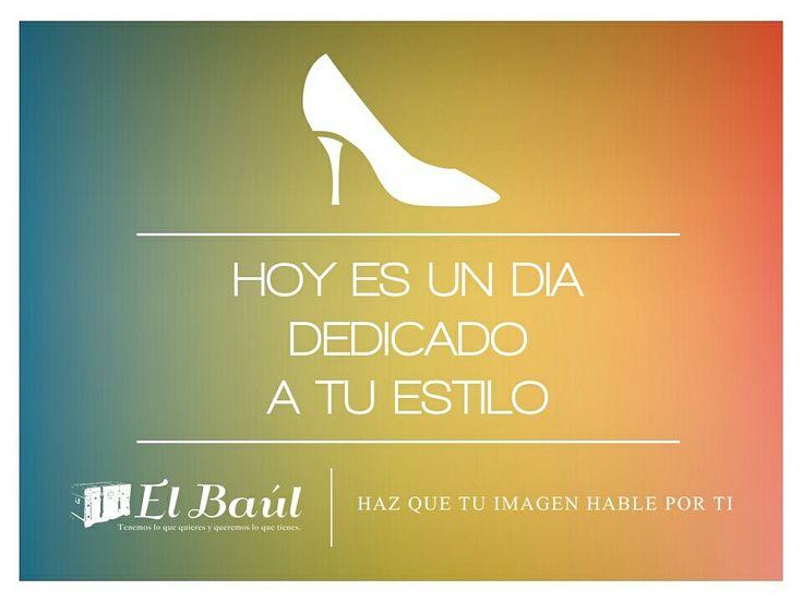 Un día para celebrar, para verte mejor que nunca estrena hoy con El Baúl.  #felizsabado #mujer #moda