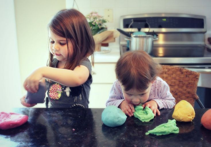 How to get the right consistency when making playdough.