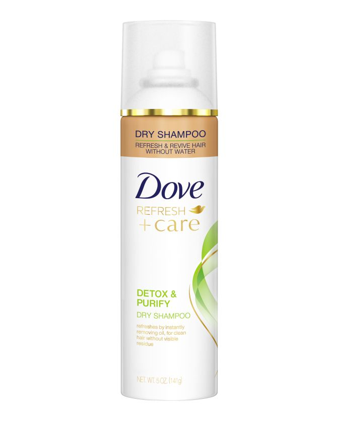 Beauty Awards 2016: Best Drugstore Hair Products - Dove Detox & Purify Dry Shampoo