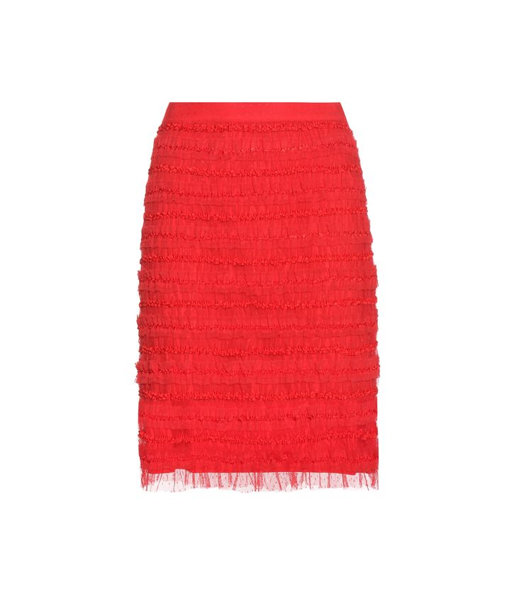GIVENCHY Ruched tulle skirt € 1,085