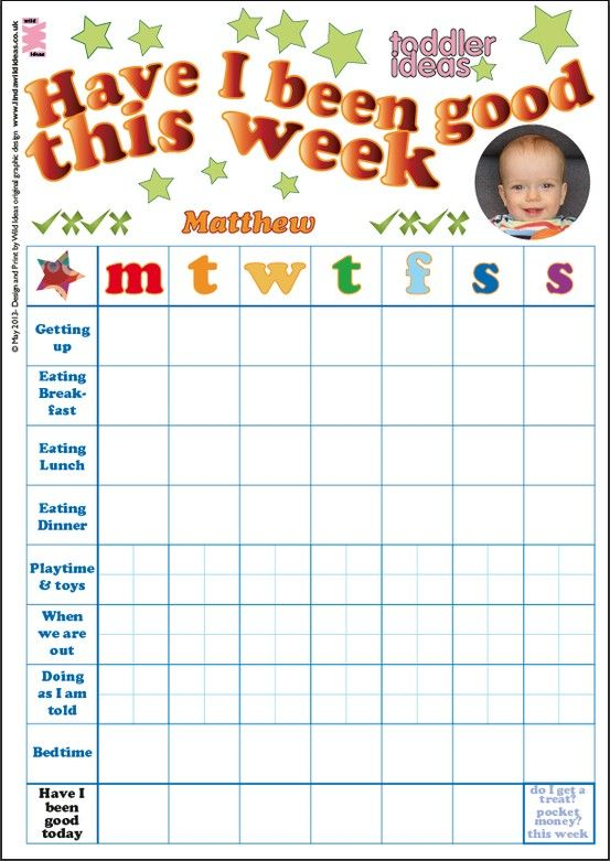Sticker Chart For Toddler  CityEsporaCo
