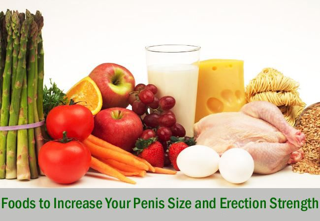 Foods That Promote Penile Growth