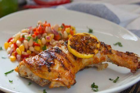 Grilowany Kurczak Curry to aromatyczny sposób na kurczaka w Indyjskim smaku