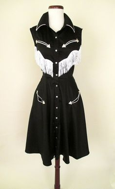 Pasty Cline Western Dress | Catnip Reproduction Vintage Clothing
