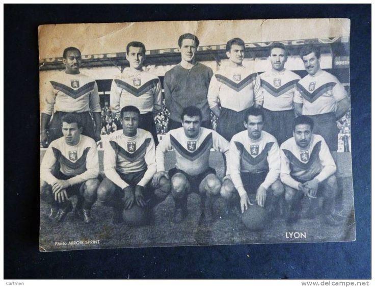 69 LYON FOOTBALL OLYMPIQUE LYONNAIS EQUIPE O.L. ANNEE 1950 MIGNOT LE ROND NIMEL ETC...PHOTO AUTHENTIQUE DE L´EPOQUE - Delcampe.net