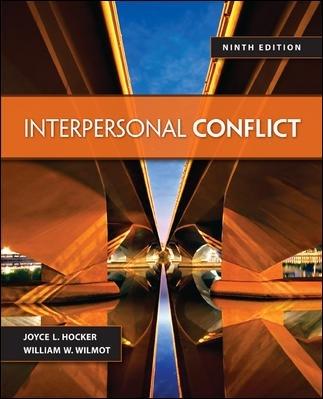 Interpersonal conflict in flim