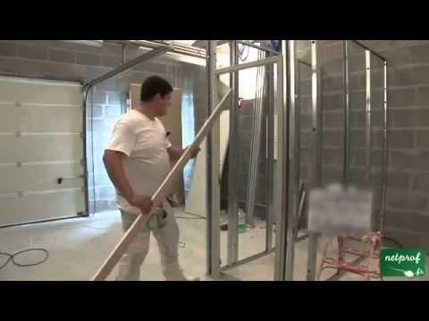 Instalação de porta na parede Drywall - Gesso acartonado.