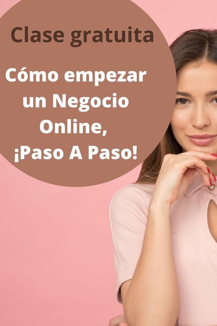 Clase gratuita para empezar un negocio online, paso a paso. Curso online gratuito, negocios online. Latina, Entrepreneur, Blogging, Marketing, Socialism, Home, Personal Development, Social Networks