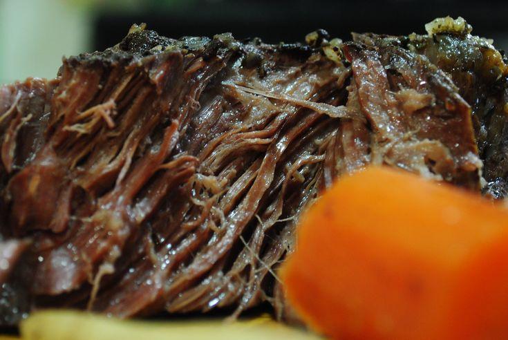 perfectly tender paleo crock pot pot roast