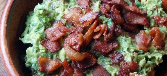 Guacamole with Bacon | Let's Eat: Dips/Salsas & Everything Spreadable...